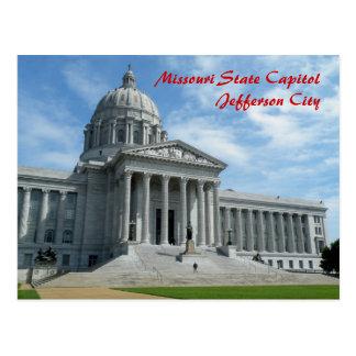 Carte Postale Capitol d'état du Missouri