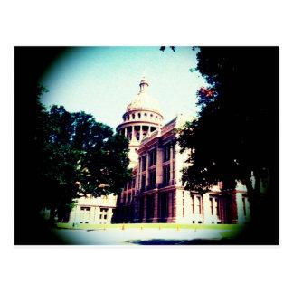 Carte Postale Capitol du Texas