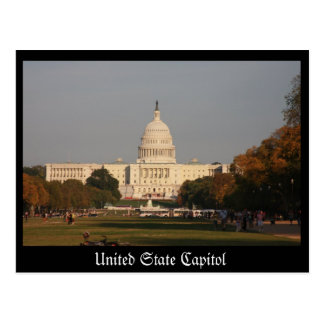 Carte Postale Capitol uni d'état