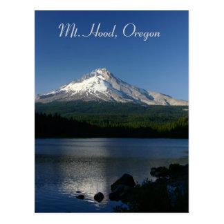 Carte Postale Capot de Mt de lac Trillium