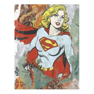 Carte Postale Câpres comiques 2 de Supergirl
