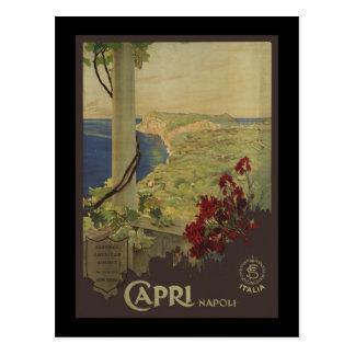 Carte Postale Capri Napoli