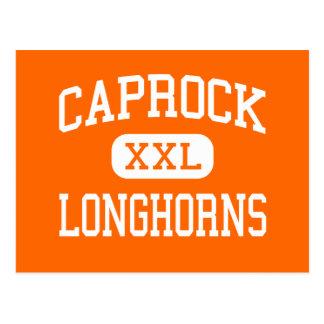 Carte Postale Caprock - Longhorns - lycée - Amarillo le Texas
