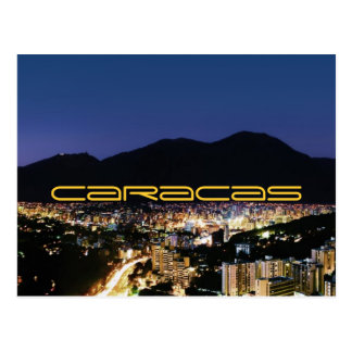 Carte Postale Caracas by night