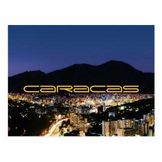 Carte Postale Caracas par nuit