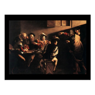 Carte Postale Caravaggio appeler de St Matthew