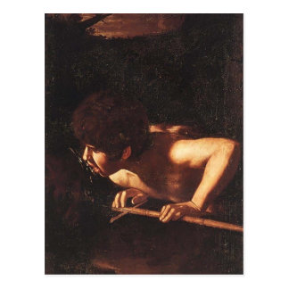 Carte Postale Caravaggio- Jean-Baptist