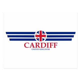 Carte Postale Cardiff
