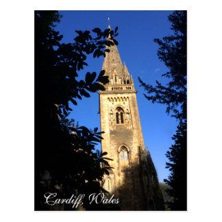 Carte postale - Cardiff, Pays de Galles,