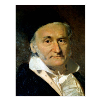 Carte Postale Carl Friedrich Gauss