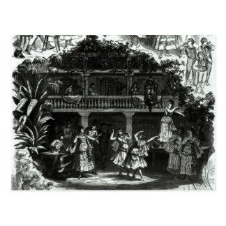 Carte Postale Carmen dans la taverne de Lilas Pastia