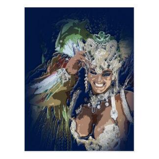 Carte Postale Carnaval de Rio