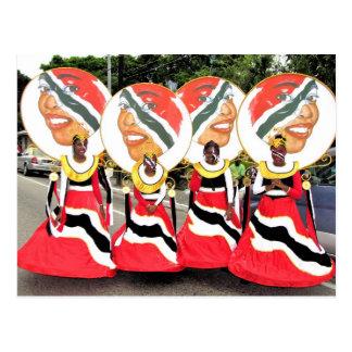 Carte Postale Carnaval d'enfants, Trinidad-et-Tobago
