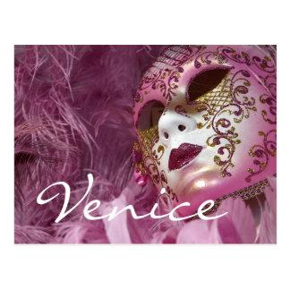Carte Postale Carnaval, Venise