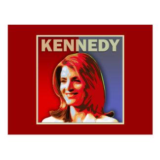 Carte Postale Caroline Kennedy pour le sénat des États-Unis