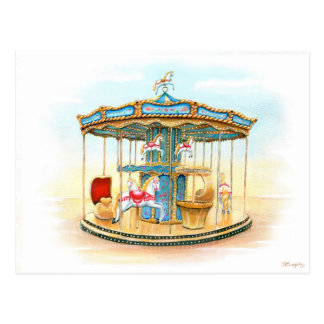 Carte Postale 'Carousel