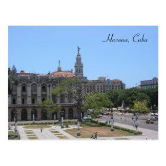 Carte Postale carré de la Havane