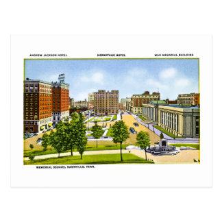 Carte Postale Carré de mémorial, Nashville, Tennessee