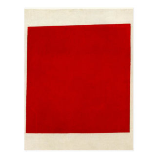 Carte Postale Carré rouge par Kazimir Malevich