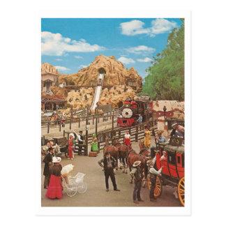 Carte Postale Carré vintage de calicot