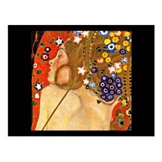 Carte Postale Carte-Classique/Cru-Gustav Klimt 6