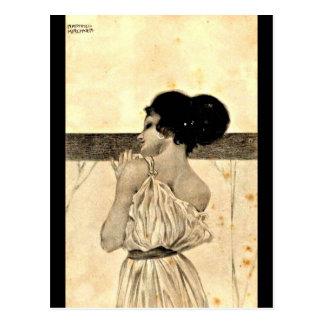 Carte Postale Carte-Classique/Cru-Raphael Kirchner 17