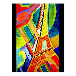 Carte Postale Carte-Classique/Cru-Robert Delaunay 16