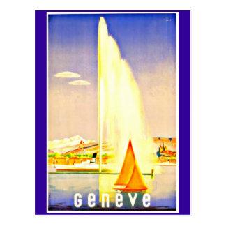 Carte Postale Carte-Cru Voyage-Genève