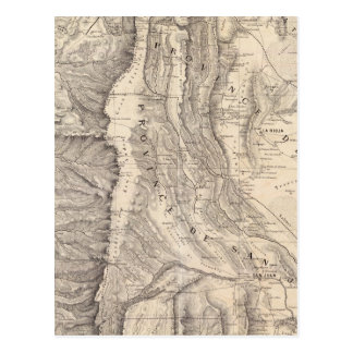 Carte Postale Carte, provinces De La Rioja San Juan