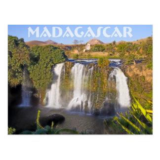 Carte Postale Cascade d'Ampefy, Madagascar