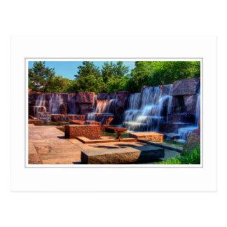 Carte Postale Cascade de mémorial de FDR