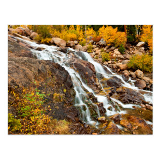 Carte Postale Cascade en parc national grand de Teton