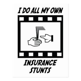Carte Postale Cascades d'assurance
