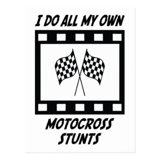 Carte Postale Cascades de motocross