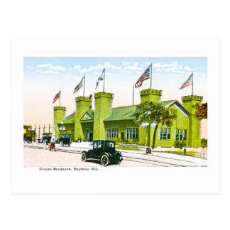 Carte Postale Casino Burgoyne, Daytona, la Floride