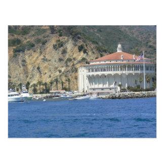 Carte Postale casino d'île de Catalina