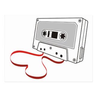 Carte Postale Cassette audio