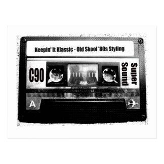 Carte Postale Cassette de vieille école