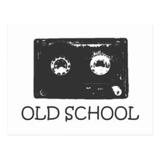 Carte Postale Cassette de vieille école !
