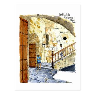 Carte Postale Castillo de la Real Fuerza, vieille La Havane,