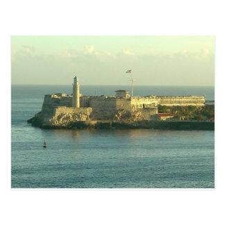 Carte Postale Castillo del Morro La Habana Cuba