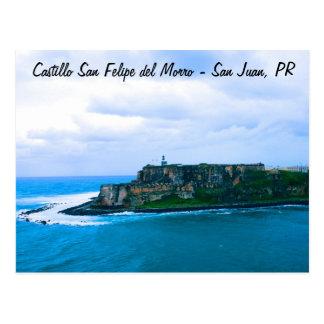 Carte Postale Castillo San Felipe del Morro - vieux forts de San