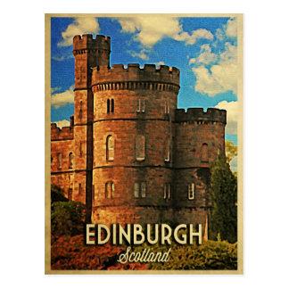 Carte Postale Castle rock Edimbourg