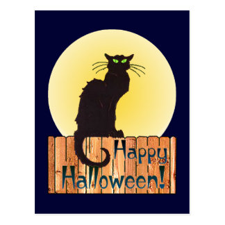 Carte Postale CAT de HALLOWEEN par SHARON SHARPE