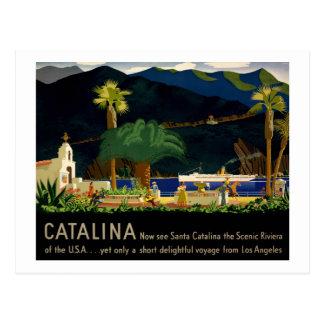 Carte Postale Catalina par Otis Shepard, C. 1935.