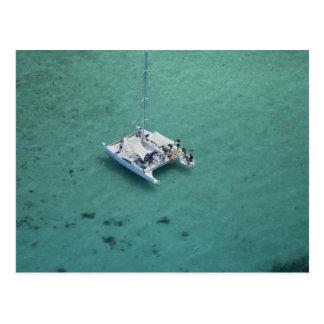 Carte Postale Catamaran, îles de Mamanuca, Fidji, South Pacific