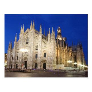 Carte Postale Cathédrale à Milan