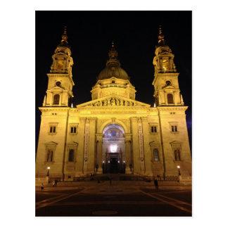Carte Postale Cathédrale de Budapest