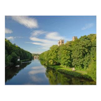 Carte Postale Cathédrale de Durham de l'usage de rivière