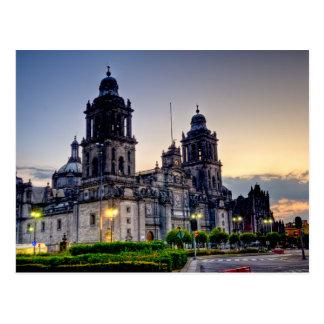 Carte Postale Cathédrale de Mexico